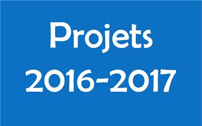 Projets 2016-2017