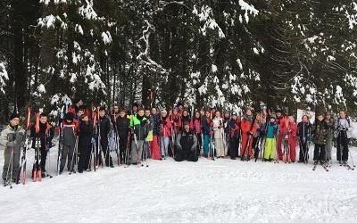 Sortie 6ème ski de fond