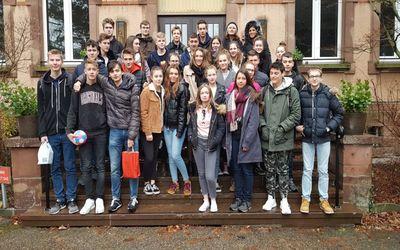 Nouvel échange franco-allemand au lycée Saint-Antoine