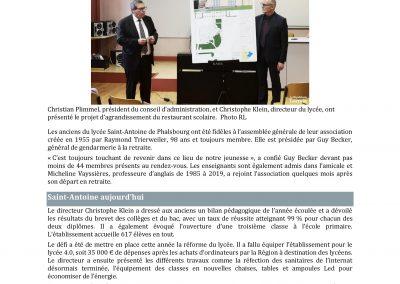 AG 2019 Article Républicain Lorrain 2019.10.27-page-001