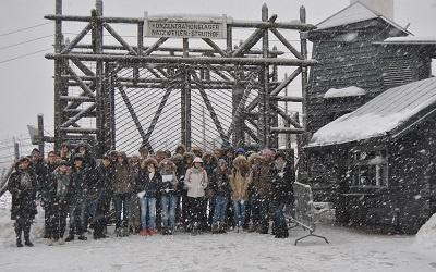 Schulfahrt zum KZ Natzweiler-Struthof am 1. Dezember 2017