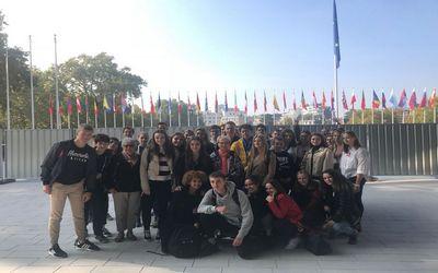 Le Conseil de l'Europe accueille les élèves de la filière Économique et Sociale du lycée Saint Antoine de Phalsbourg