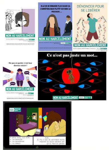 Lycée Saint Antoine, lauréat académique du prix «non au harcèlement»
